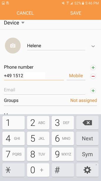 چگونه در واتساپ شماره اضافه کنیم (شماره های خارج از کشور)