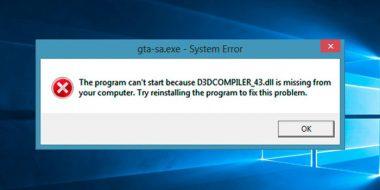 حل مشکل ارور d3dcompiler_47.dll is missing در ویندوز 10 ، 8 و 7