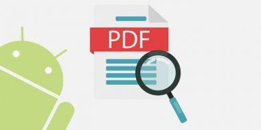 جستجو در متن PDF اندروید