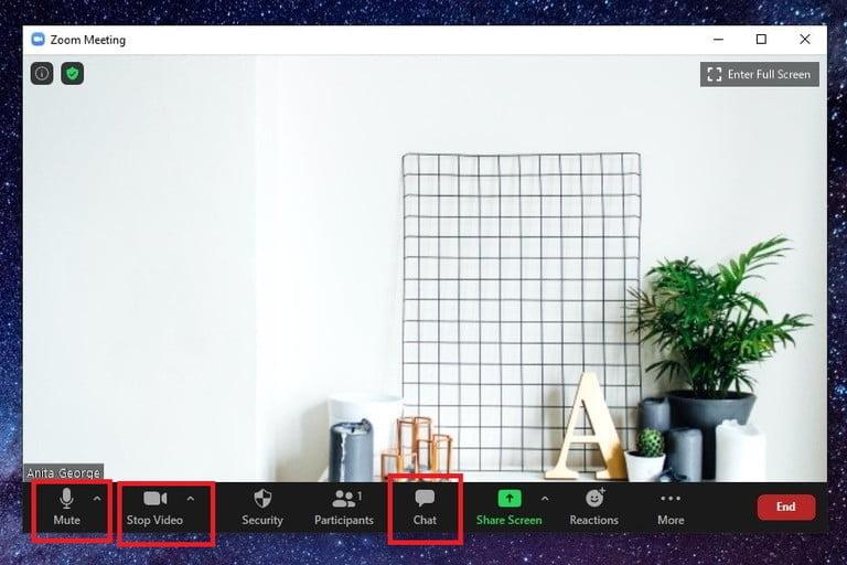 نحوه استفاده از نرم افزار Zoom meeting برای ویندوز