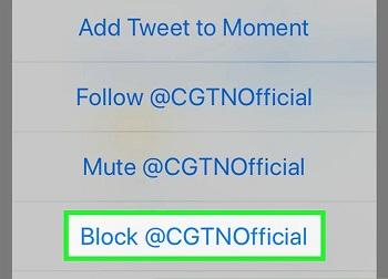 حساب های تبلیغاتی توییتر را در آیفون و آیپد مسدود کنید