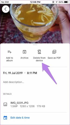 ذخیره تصاویر بر روی تلفن همراه از گوگل فوتو