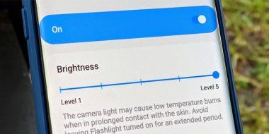 4 روش تنظیم نور چراغ قوه و شدت نور فلش اندروید