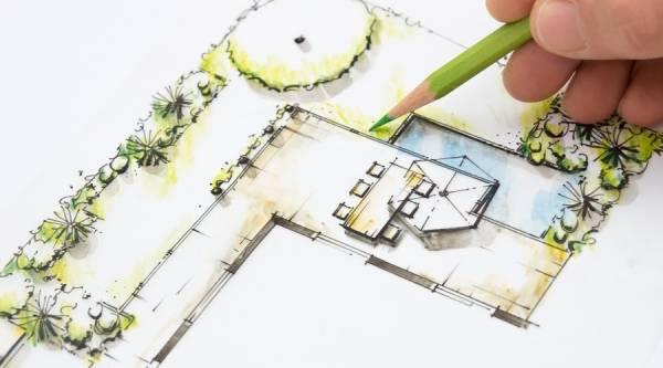 سایت طراحی حیاط خانه های ویلایی آنلاین