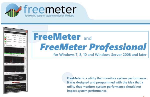 نمایش میزان استفاده از گرافیک در FreeMeter