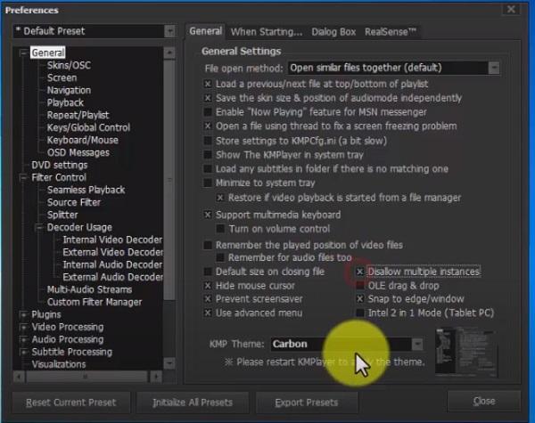 مشکل سبز شدن فیلم در کامپیوتر