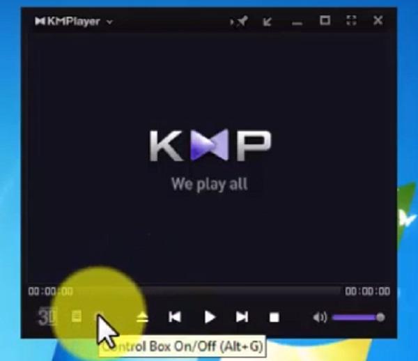 مشکل تصویر در kmplayer