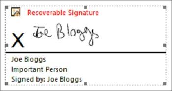 چگونه در ورد امضا کنیم