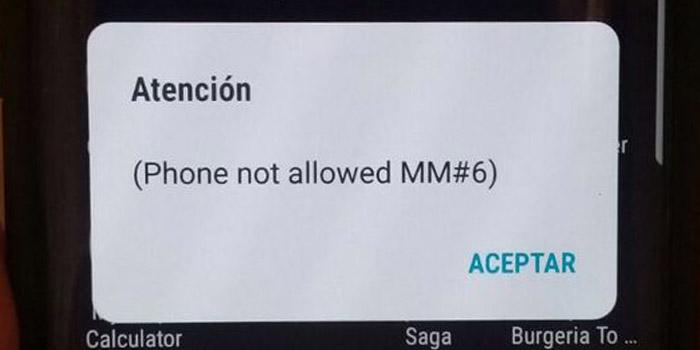 حل مشکل ارور Phone Not Allowed در گوشی اندروید