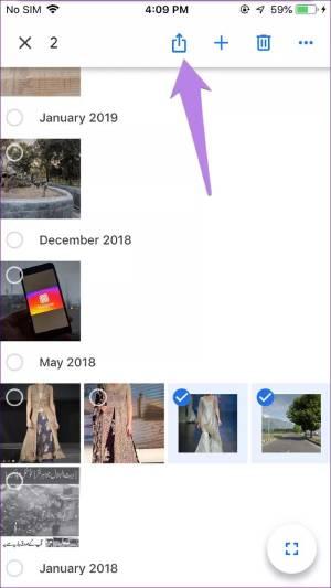 ذخیره تصاویر در iOS از طریق گوگل فوتو
