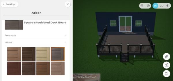 سایت طراحی Timber Tech Deck Designer