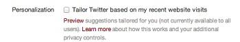 چگونه تبلیغات توییتر را غیرفعال کنیم