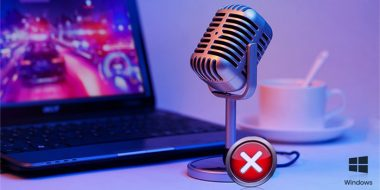 رفع مشکل میکروفن در ویندوز 10