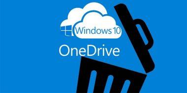 آموزش کامل 5 روش حذف OneDrive از ویندوز 10