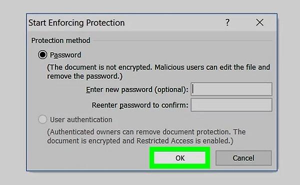 طریقه رمز گذاری روی فایل ورد در مک