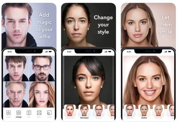 دانلود نرم افزار تغییر چهره حرفه ای FaceApp