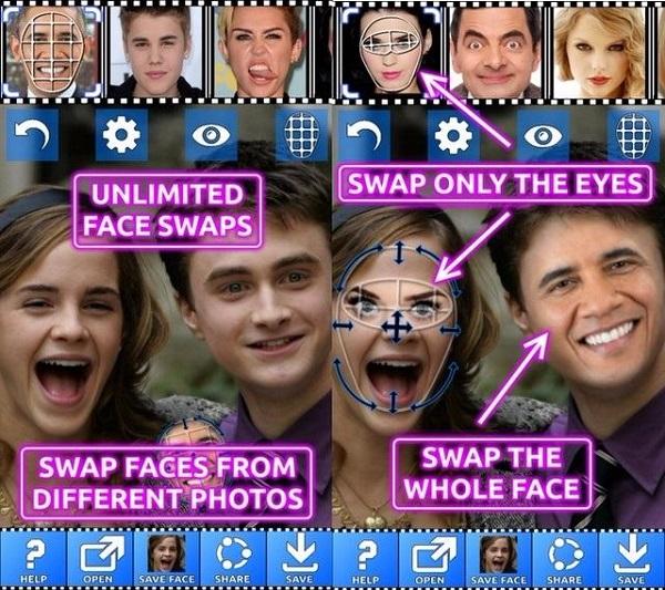 Face Swap Booth برنامه تغییر چهره خنده دار