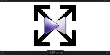آموزش 5 روش حل مشکل کوچک و بزرگ شدن تصویر در KMPlayer