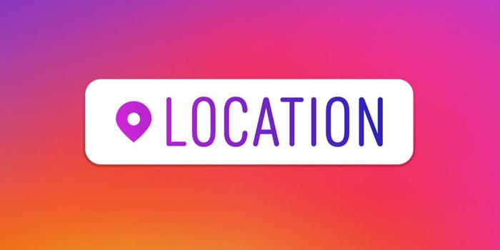 آموزش تصویری ثبت لوکیشین یا مکان در اینستاگرام جدید