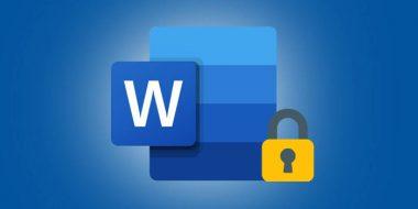 آموزش 3 روش رمز گذاری فایل ورد