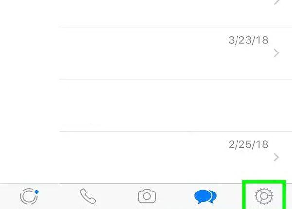 تغییر صدای زنگ واتساپ