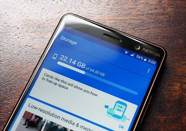 حل مشکل کند شدن گوشی با برنامه Files by Google