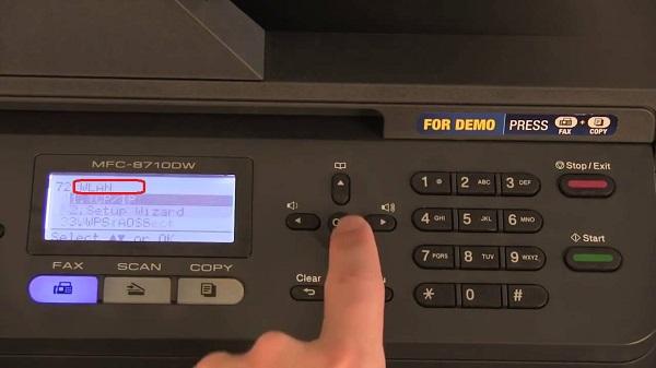 وصل شدن پرینتر وای فای-Brother Printer1