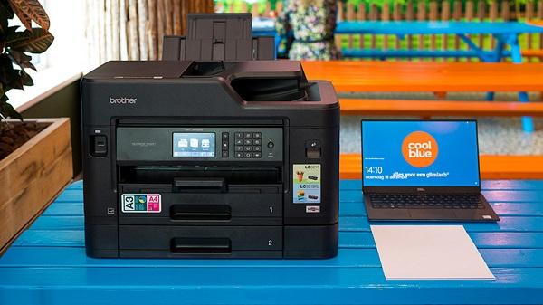 وصل شدن پرینتر وای فای-Brother Printer2