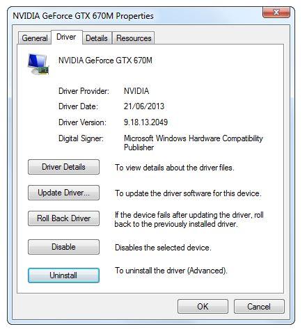 نصب درایور از طریق Device Manager