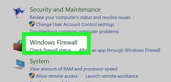 ایجاد محدودیت دسترسی به اینترنت توسط فایروال ویندوز 7