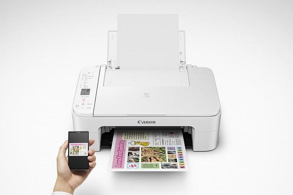 وصل شدن پرینتر وای فای-Canon Printer