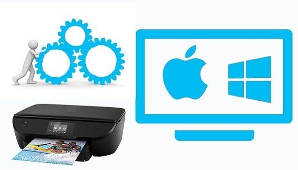 وصل شدن پرینتر وای فای-Canon Printersetting