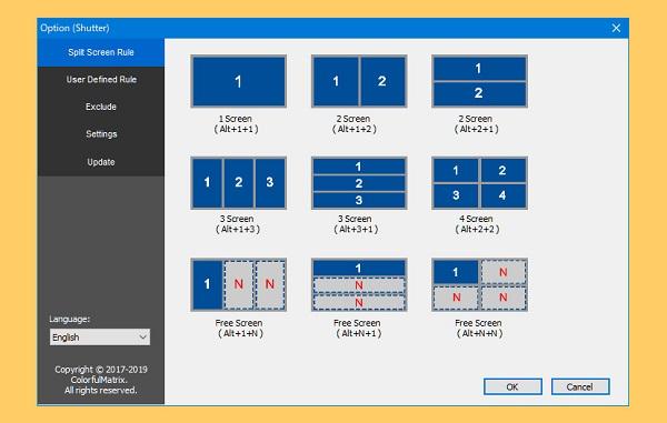 نرمافزار Shutter Split Screen