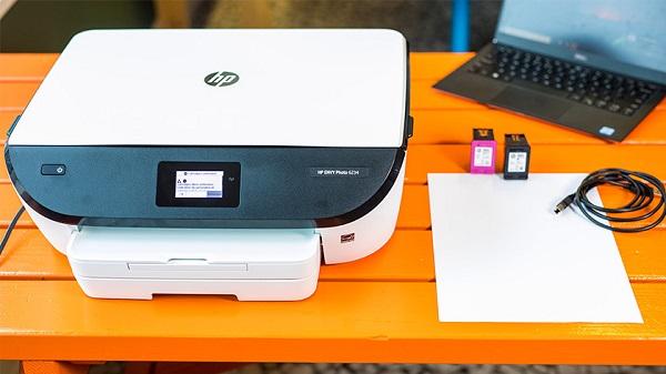 وصل شدن پرینتر وای فای-HP Printer1