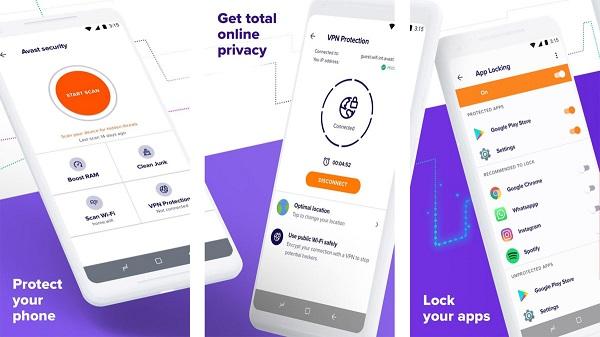 دانلود آنتی ویروس آندروید Avast Mobile Security