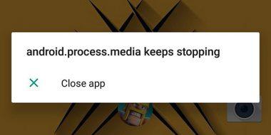 آموزش 9 روش حل مشکل ارور Android.Process.Media اندروید