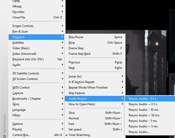 حل مشکل صدای فیلم در KMPlayer با استفاده از کلیک راست