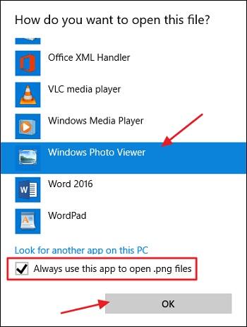 فعال کردن windows photo viewer برای ویندوز 10