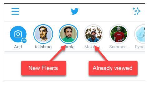 استوری توییتر Fleets چیست؟