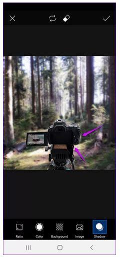 تغییر پشت زمینه عکس اندروید با PicsArt