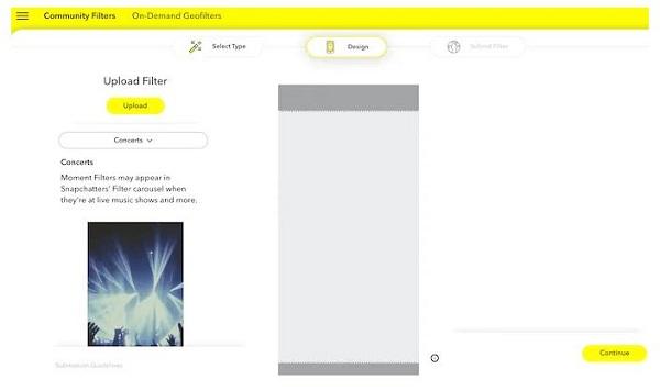 ساخت فیلتر اسنپ چت رایگان