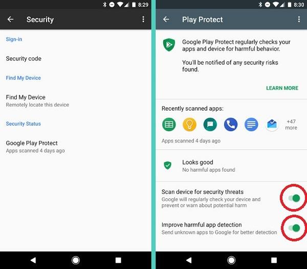 راه های جلوگیری از هک شدن گوشی اندروید