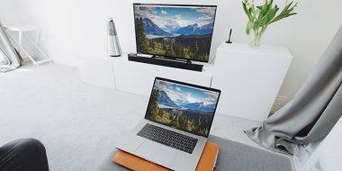 آموزش روش اتصال لپ تاپ به تلویزیون به صورت بی سیم و کابلی