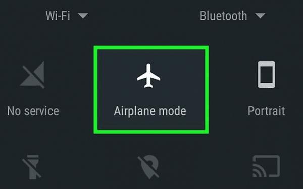 اجرای بازی اندروید بدون تبلیغات با فعال کردن حالت پرواز (حذف تبلیغات بازی اندروید بدون روت)