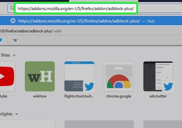 قم بإزالة إعلانات YouTube في Firefox