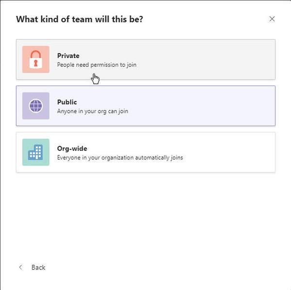 اپلیکیشن مایکروسافت تیمز، چت کردن