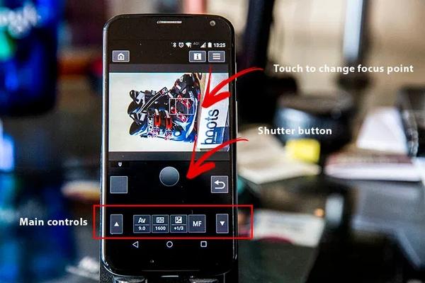 انتقال عکس از دوربین کنون به گوشی با برنامه Canon Camera Connect