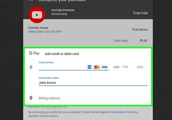 كيف تغلق إعلانات يوتيوب؟ اشترك في YouTube Premium
