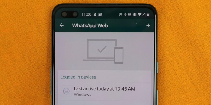 آموزش بررسی و حذف دستگاه های متصل به واتس اپ