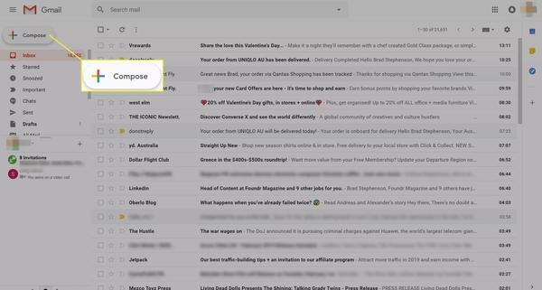 آموزش طریقه فرستادن عکس با ایمیل در Gmail